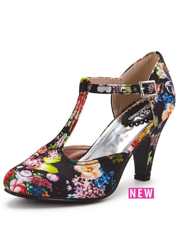 Joe Browns Pretty Vintage T-Bar Shoes | very.co.uk