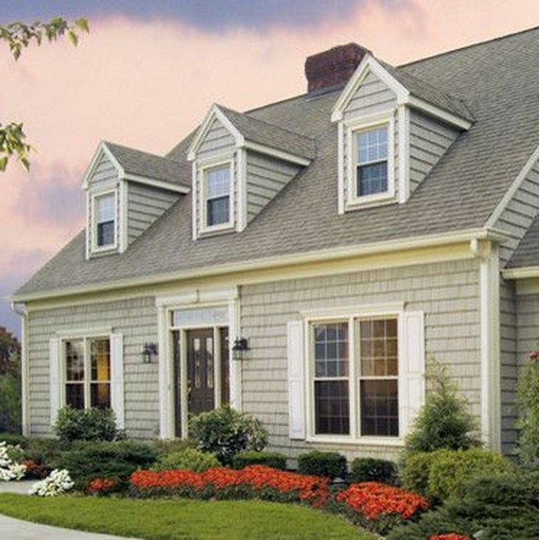 Best 35 Awesome Traditional Cape Cod House Exterior Ideas 400 x 300