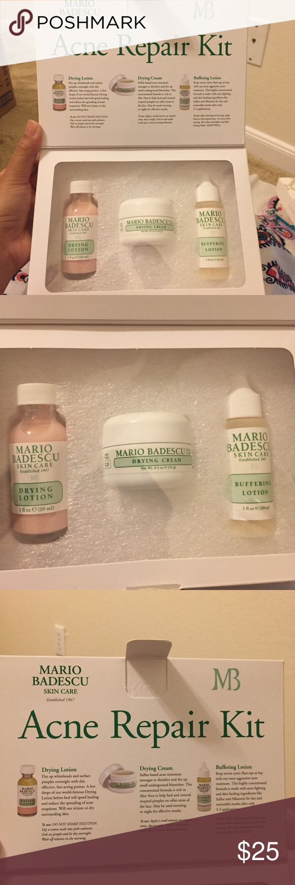Mario Badescu Acne Repair Kit New Comes In Box Sephora Other