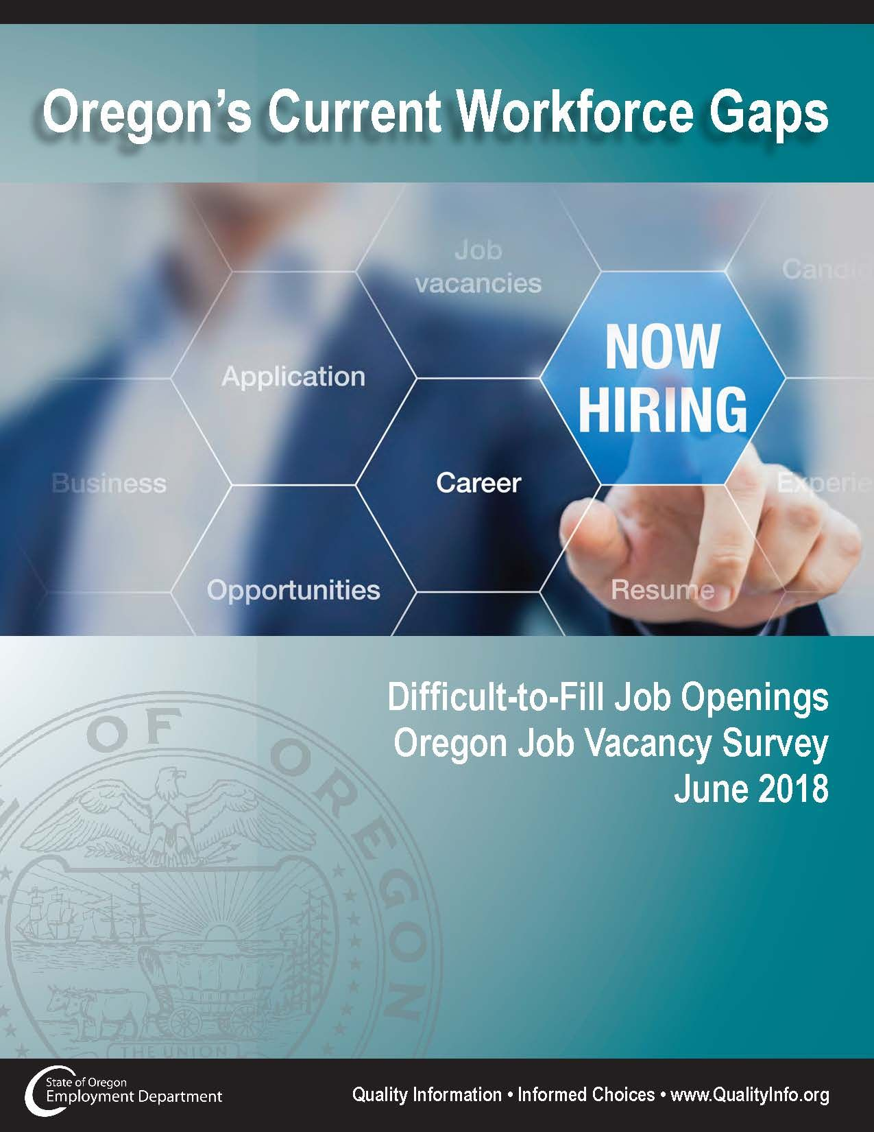 Oregon's current workforce gaps difficulttofill job