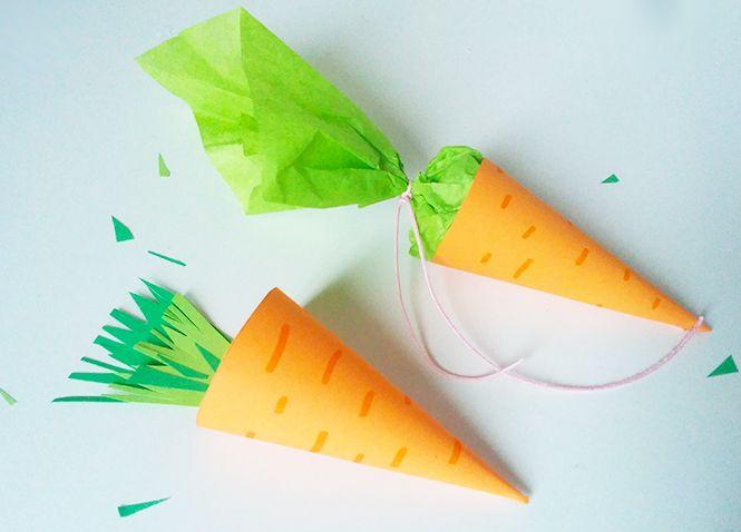 carotte de p ques en papier la ferme easter carrots et holiday. Black Bedroom Furniture Sets. Home Design Ideas