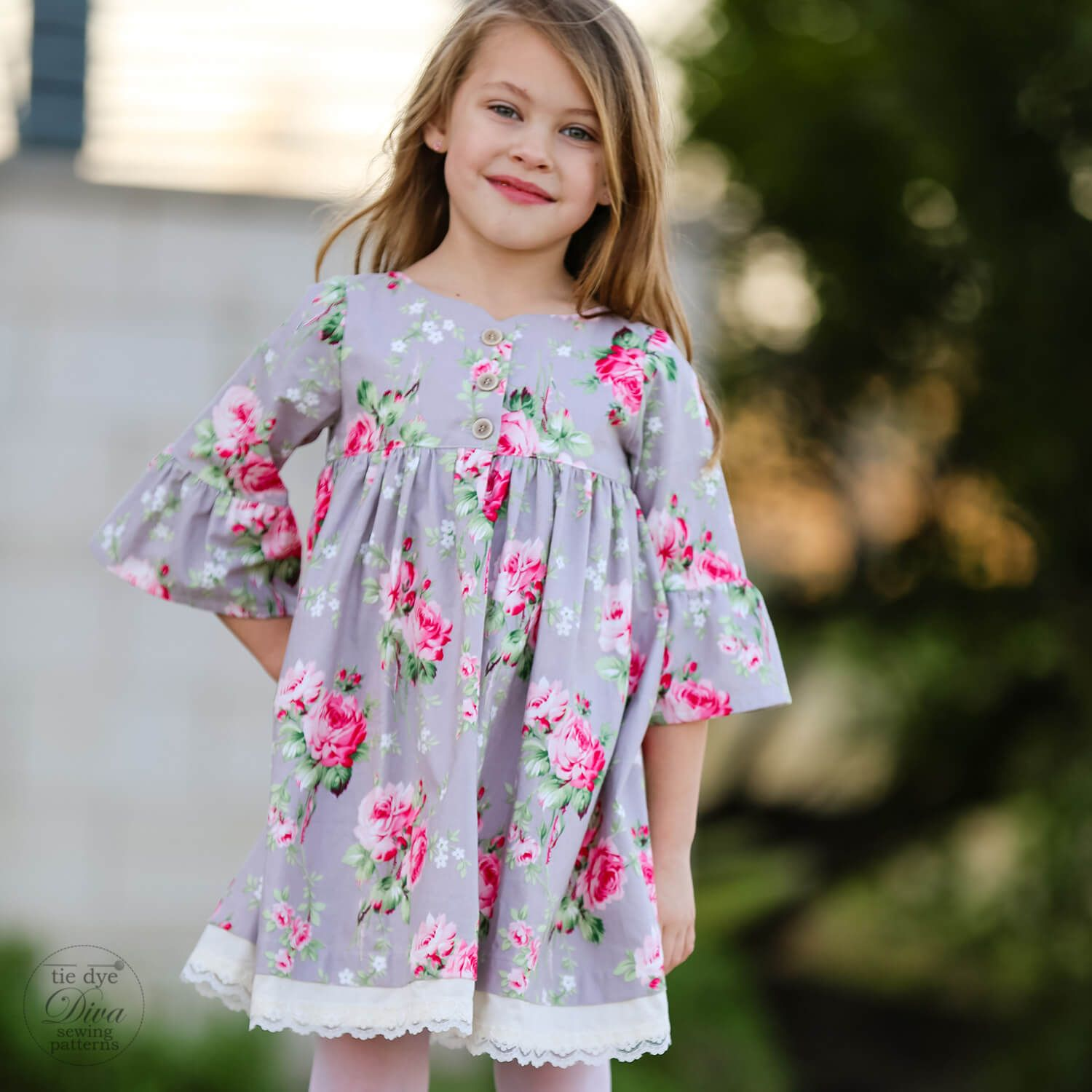 Clementine dress and top for girls months to years