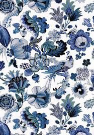 blue and white fabric - Google Search