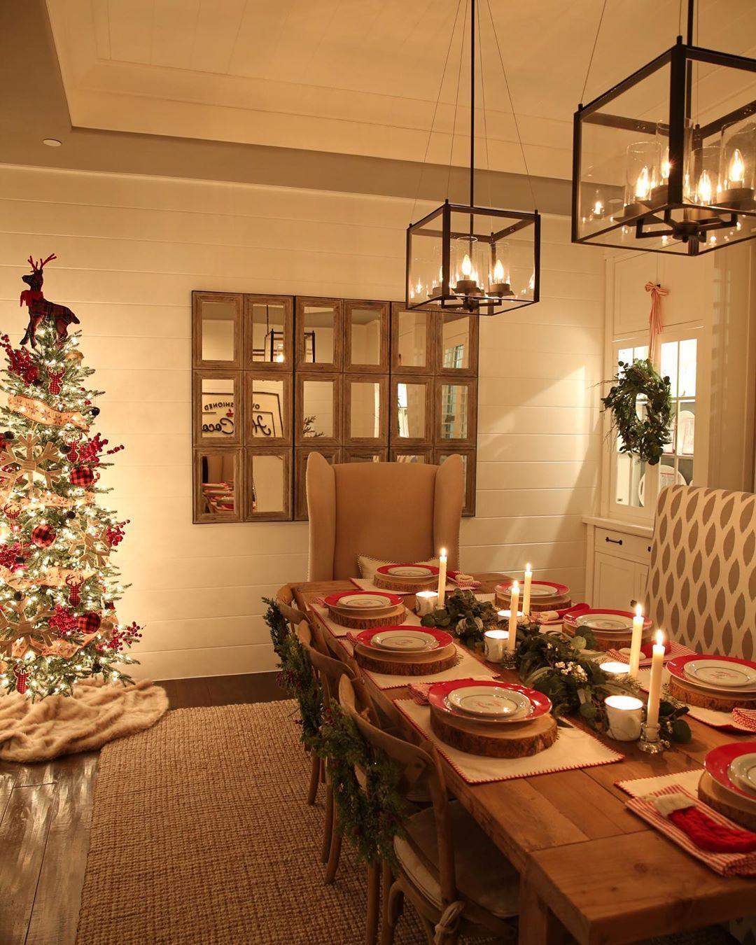 Christmas Table Decoration Ideas Cheap