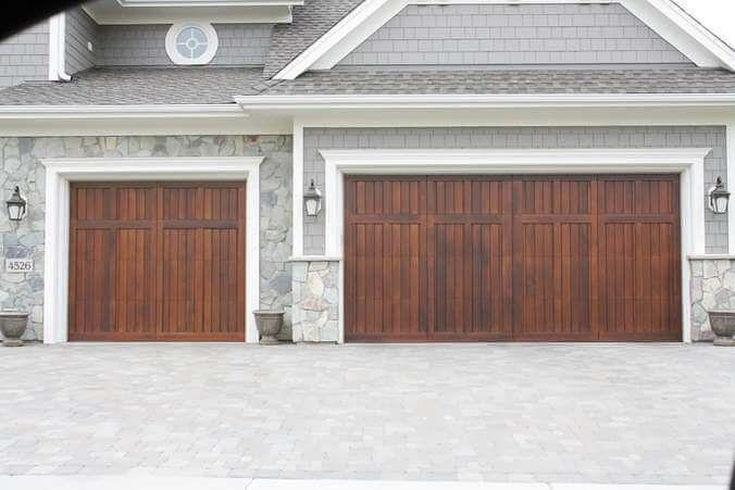 No Window Wood Garage Door Designs Google Search Garage Doors Wood Garage Doors House Exterior