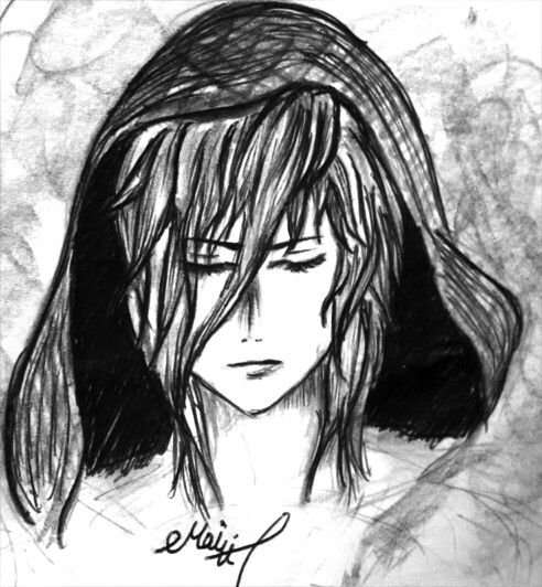 Haise..another OC I made up by Mai H.