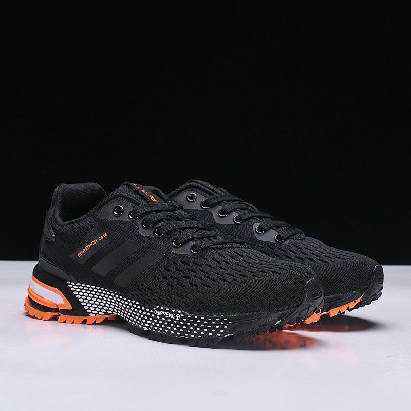 adidas Aerobounce ST Black Orange BW0008 Free Shipping Adidas Men a0a57651a