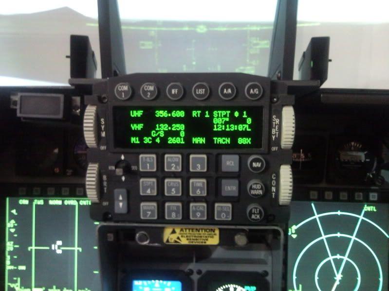 Flight Sim Cdu