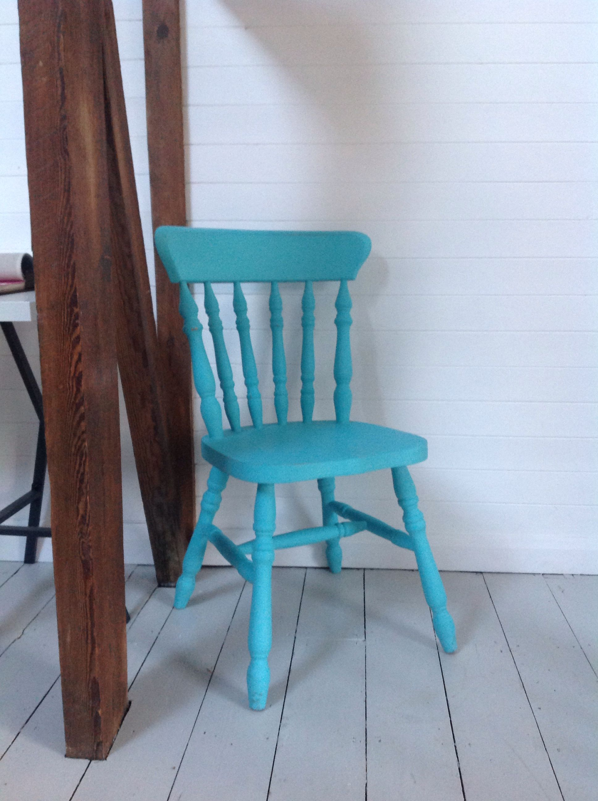 Turquoise Wooden Chair From Www Westegg Co Uk West Egg