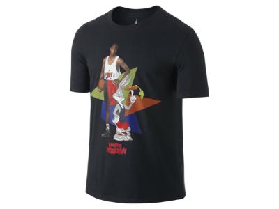 f7ea06f340bc24 Jordan AJ VII WB Hare Poster Men s T-Shirt Hare Jordan Looney Tunes Nike  Michael
