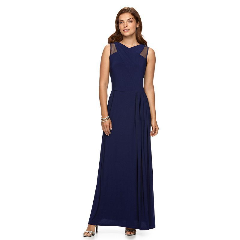 e6fdac26e71 Women s Chaps Crisscross Pleated Evening Gown
