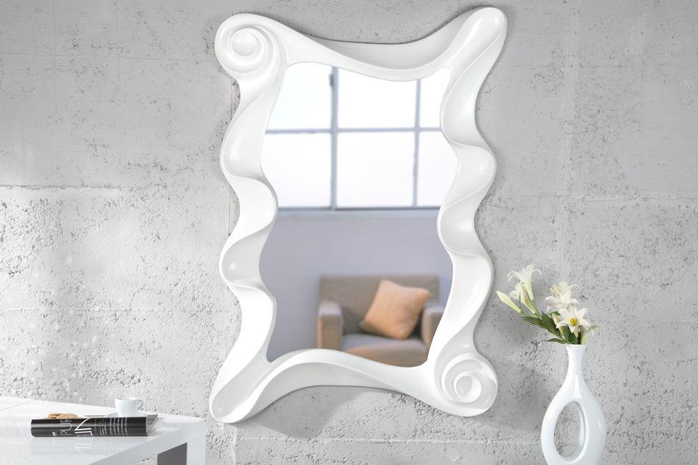 Designer Spiegel spiegel wave weiss 160cm der exklusive und grosse designer spiegel