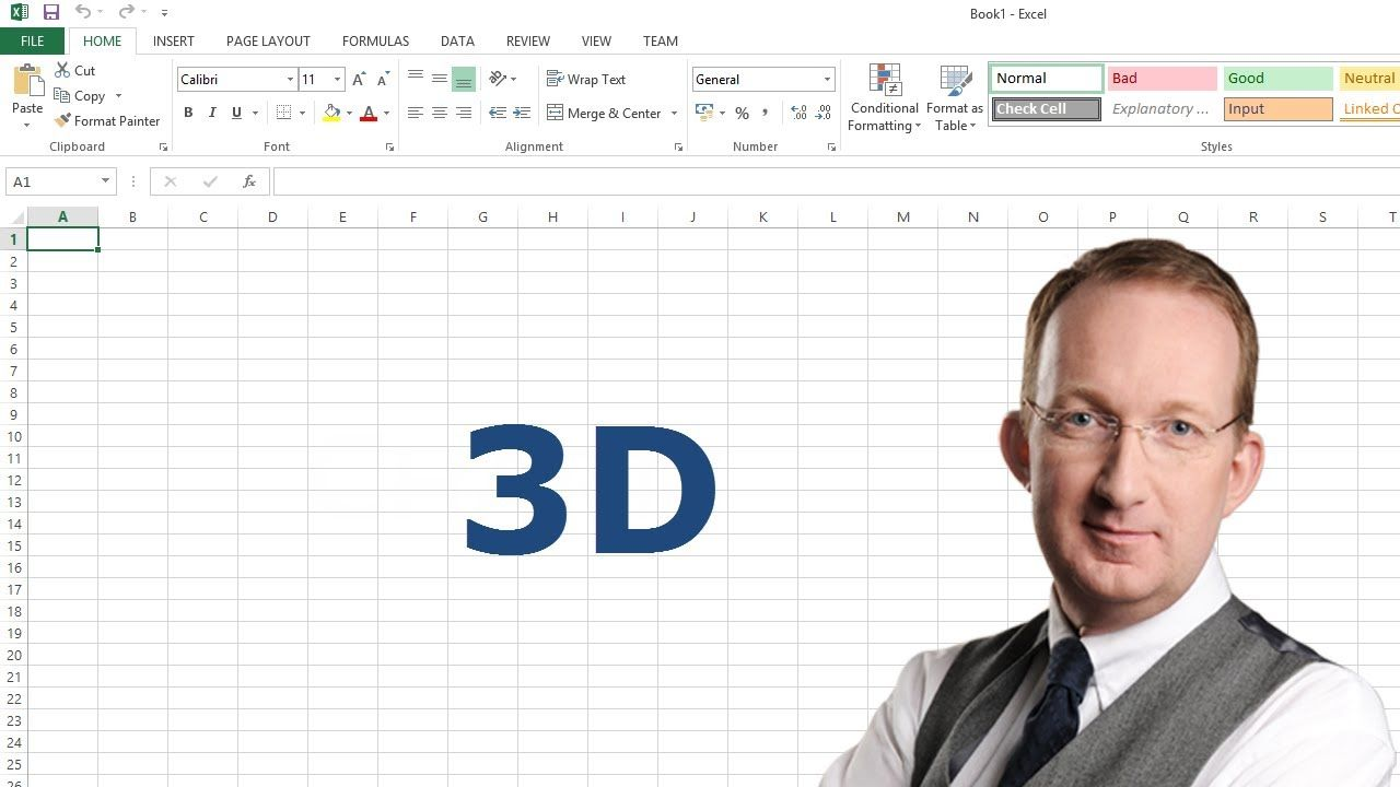 *Excel 3D References* Use 3D references to work with several similar Excel worksheets at the same time. Peter Kalmstrom shows how to quickly add formulas to budget data for difference departments and then get sums of all data into a separate sheet for the whole company. Also refer to http://www.kalmstrom.com/Tips/Excel3Dformulas.htm