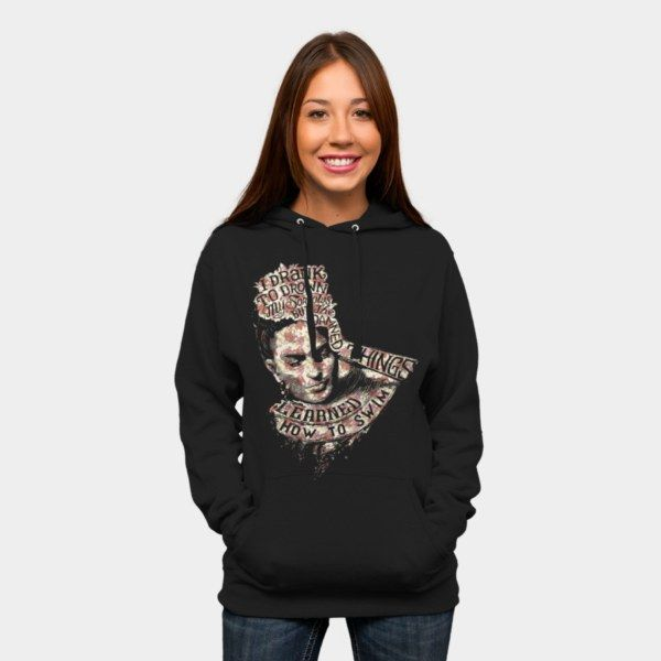 FRIDA KAHLO Pullover Hoodie By Bacht Design By Humans