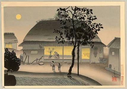 Ono Bakufu: Autumn Moon - Artelino