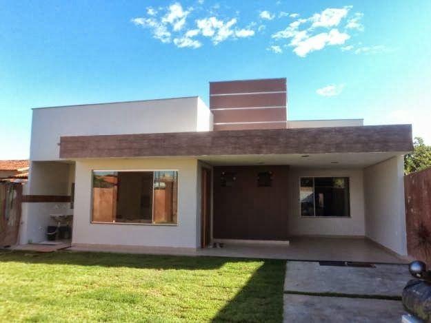 Fachadas de casas modernas casas sem telhado for Arquitectura moderna casas pequenas