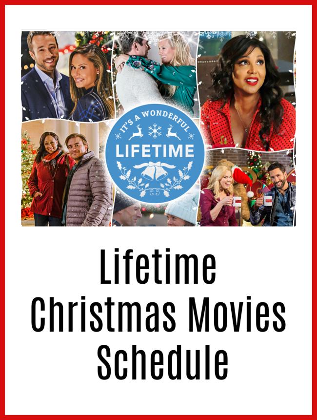 Lifetime Christmas Movies 2018 Line Up Through December Christmas Movies Holiday Fun Movie Schedule