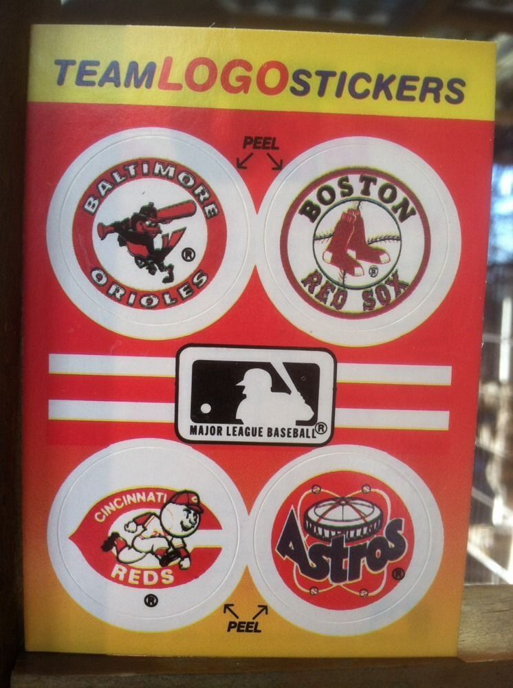 1991 fleer team logo stickers top 10