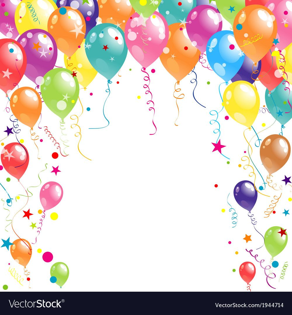 Color Beautiful Party Balloons Download A Free Preview Or High Quality Adobe Illustrat Birthday Background Images Birthday Background Happy Birthday Wallpaper