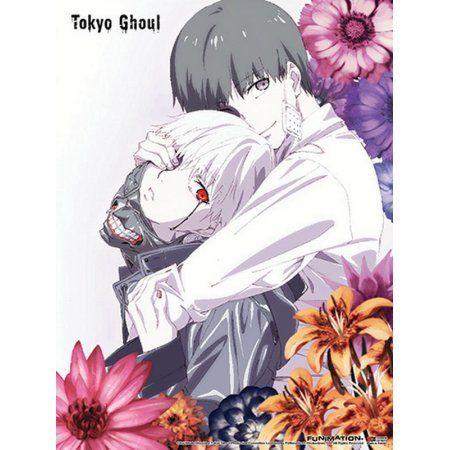 Wall Scroll - Tokyo Ghoul - New Kaneki's Embrace Flowers Toys ge86458