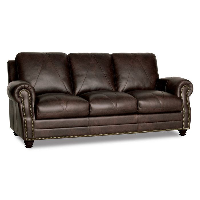 Reviews For Darby Home Co Gardner Leather Sofa Wayfair Leather Sofa Italian Leather Sofa Best Leather Sofa