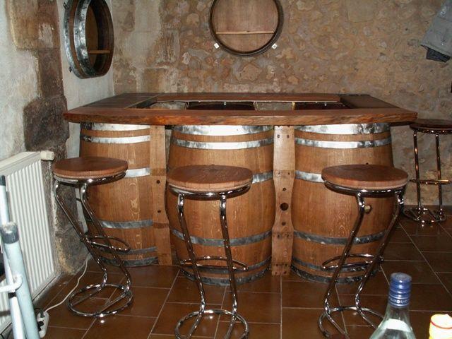 Tabouret De Bar En Bois Et En Metal In 2020 Metal Bar Stools Bar Stools Wood And Metal