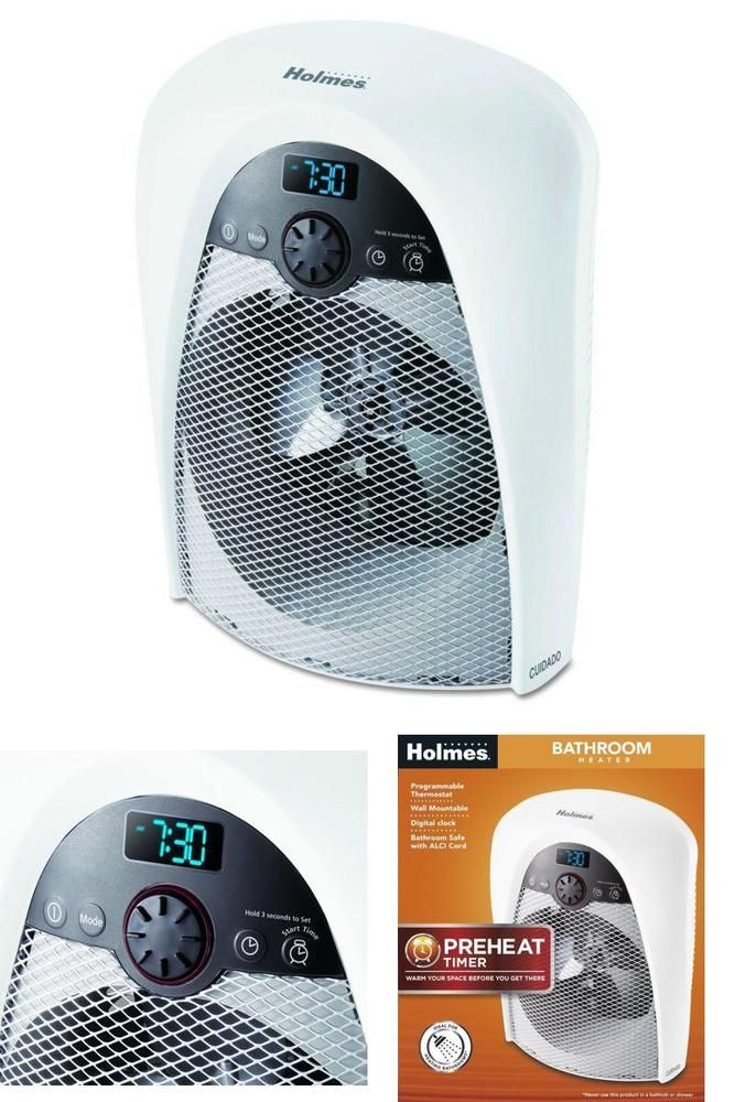 Bathroom Heater Fan Pre Heat Timer