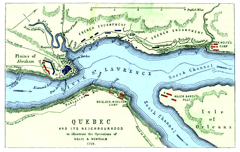 The Battle of Quebec, 13 September 1759 | Canada history ...