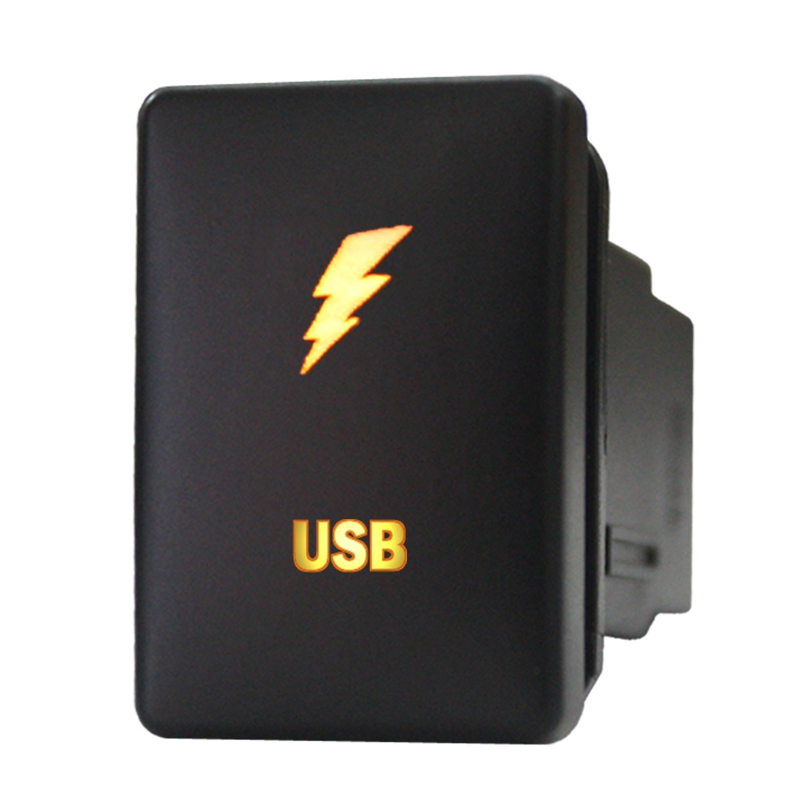 Push switch 9B46O 12volt Toyota OEM Replacement USB amber