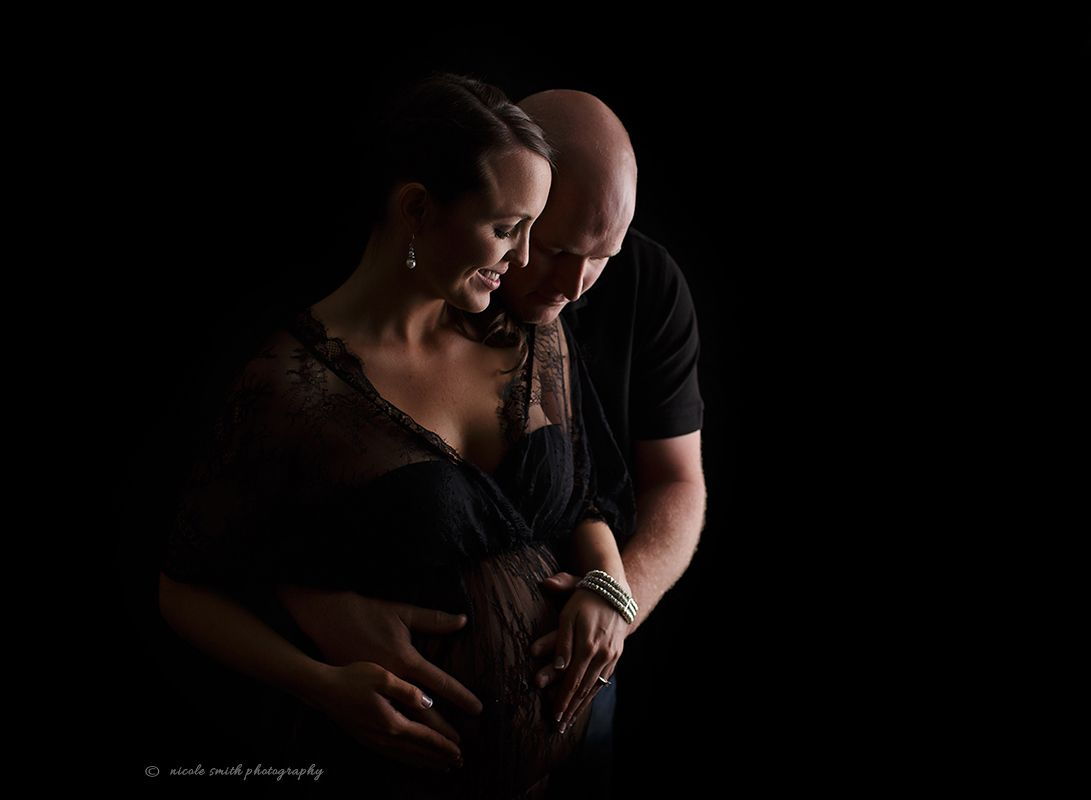 Strip lighting maternity photo nicole smith photography strip lighting maternity photo aloadofball Gallery