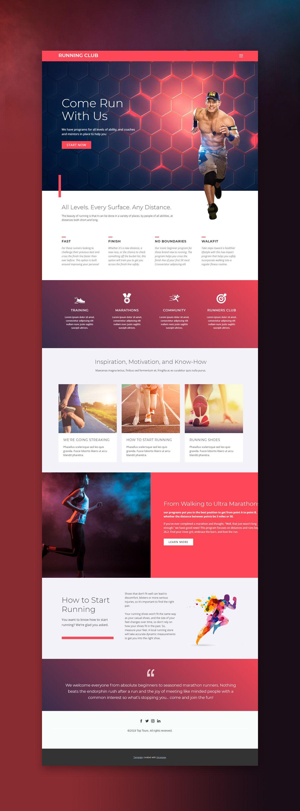 Trendy Sport Web Template Click And Start Edit This Web Template Wordpress Theme And Joomla Templ Responsive Web Design Web Design Tips Portfolio Web Design