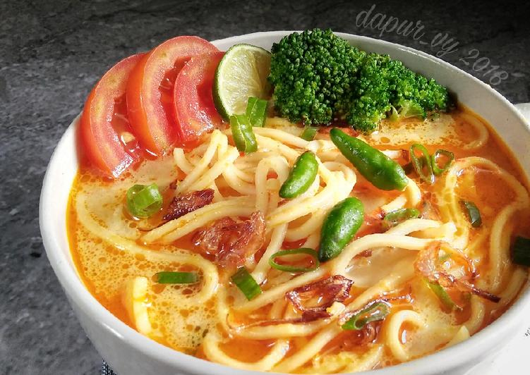Resep Mie Kuah Santan Pr Anekamiekuah Oleh Dapurvy Resep Memasak Resep Masakan