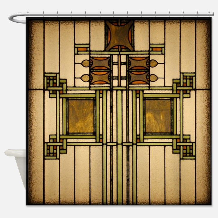 Attractive Prairie Glass Shower Curtain For