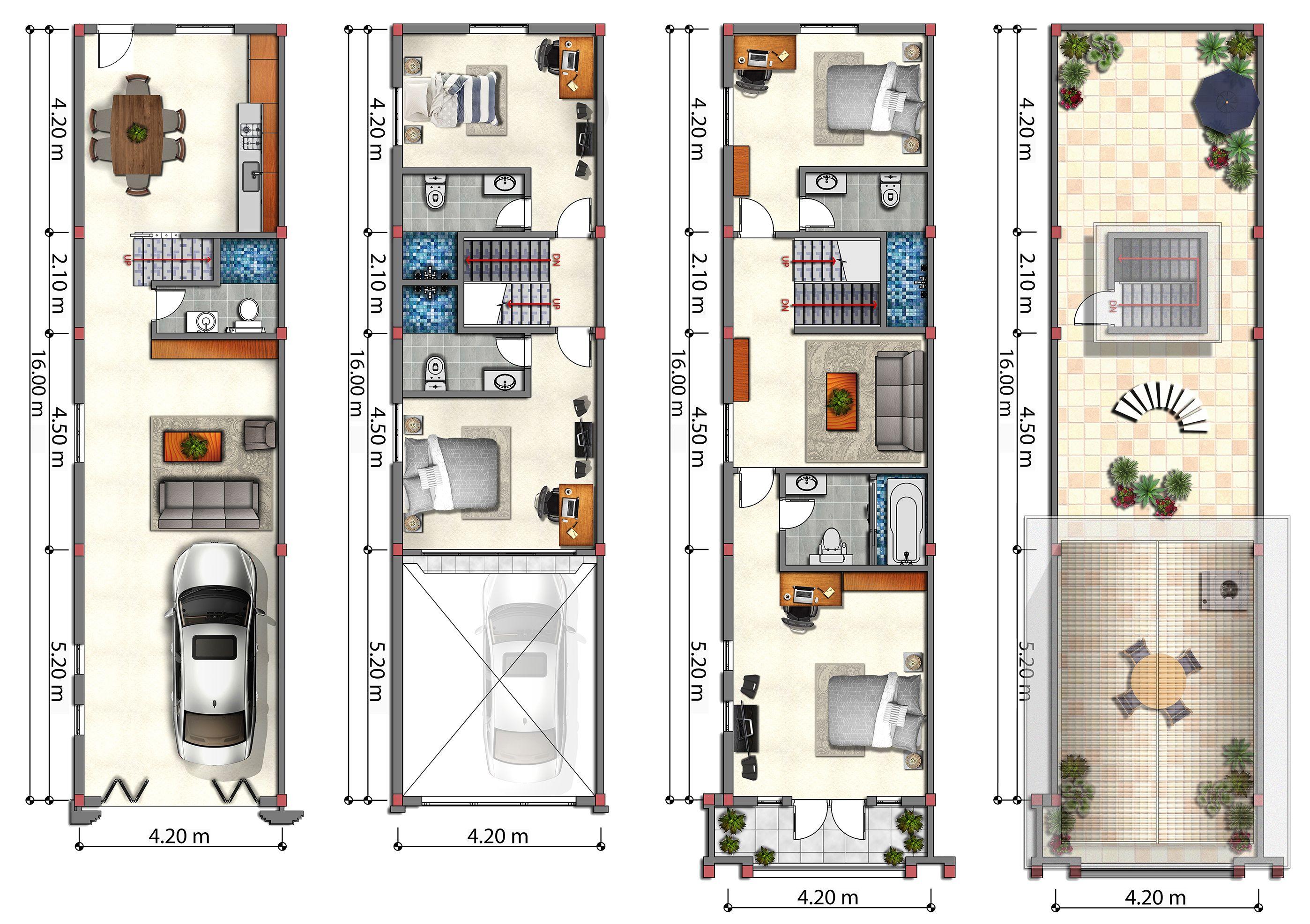 Floor Plans Flat House Phnom Penh Cambodia Gc House Plans