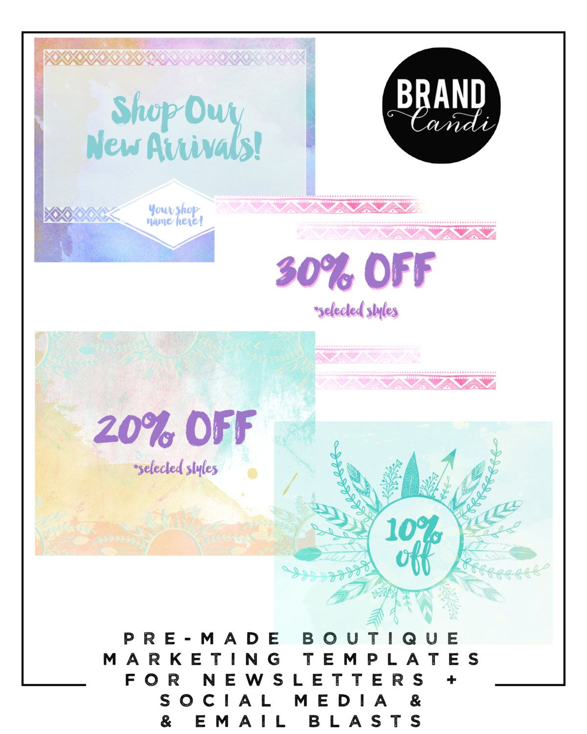 email blast template