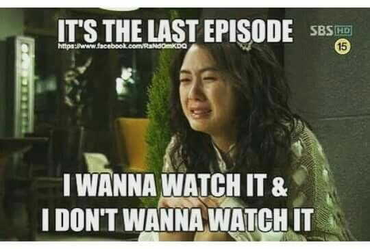 Yeah, it took me 2 weeks to watch last episode of 'Strong