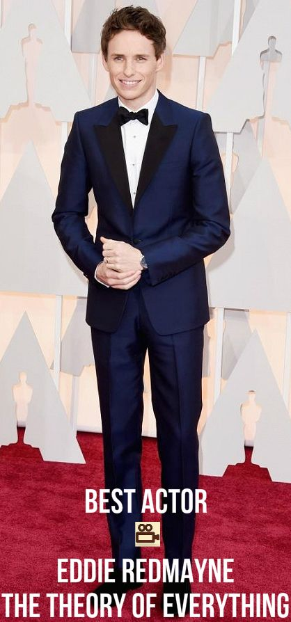What a talented actor and an incredible performance! #Best #Actor #Eddie #Redmayne #Oscars #2015 #Film