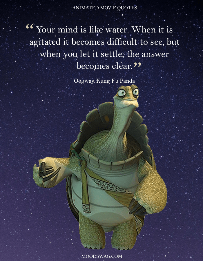 Top 15 Amazing Animated Movie Quotes In 2019 Moodswag Animation Quotes Inspirational Quotes Disney Movie Character Quotes