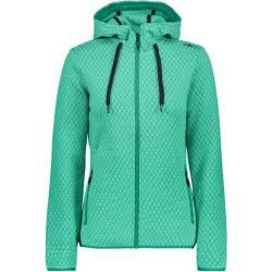 Photo of Cmp Damen Fleecejacke Woman Jacket Fix Hood, Größe 44 In Mint-Aquamint, Größe 44 In Mint-Aquamint F.