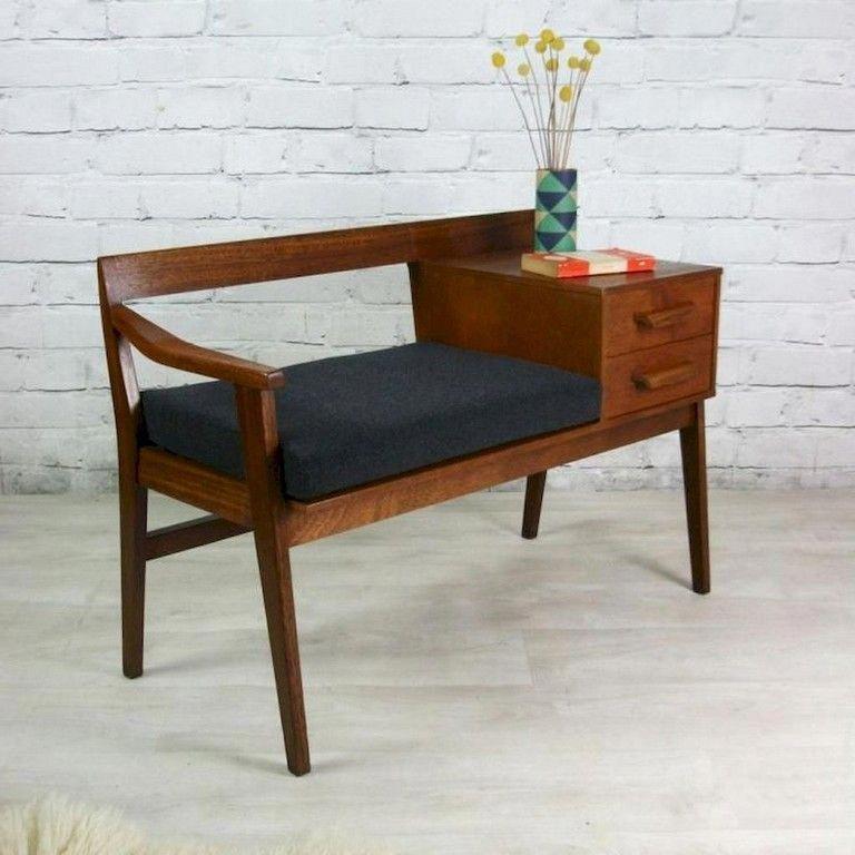 50 Good Mid Century Living Room Decor Ideas  #livingroom #livingroomdecor #livingroomdecorideas #Designtable