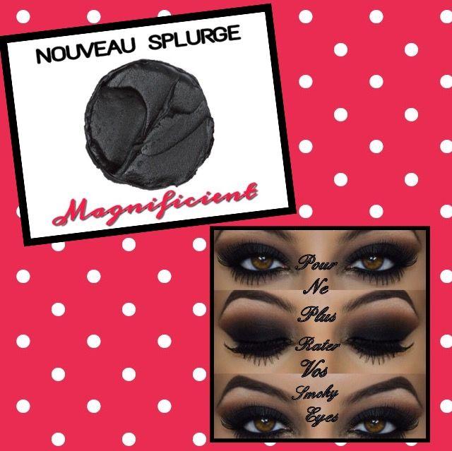 💜 NOUVEAU SPLURGE DISPONIBLE  ⭐️ Le Magnificient - Noir Mat Tout simplement Génial! 👍🏻 Il est possible de l'intégrer aussi dans le Kudo du mois ☺️ Vous le trouverez dans ma boutique  🌐 www.youniqueproducts.com/AxelleBERTEAU