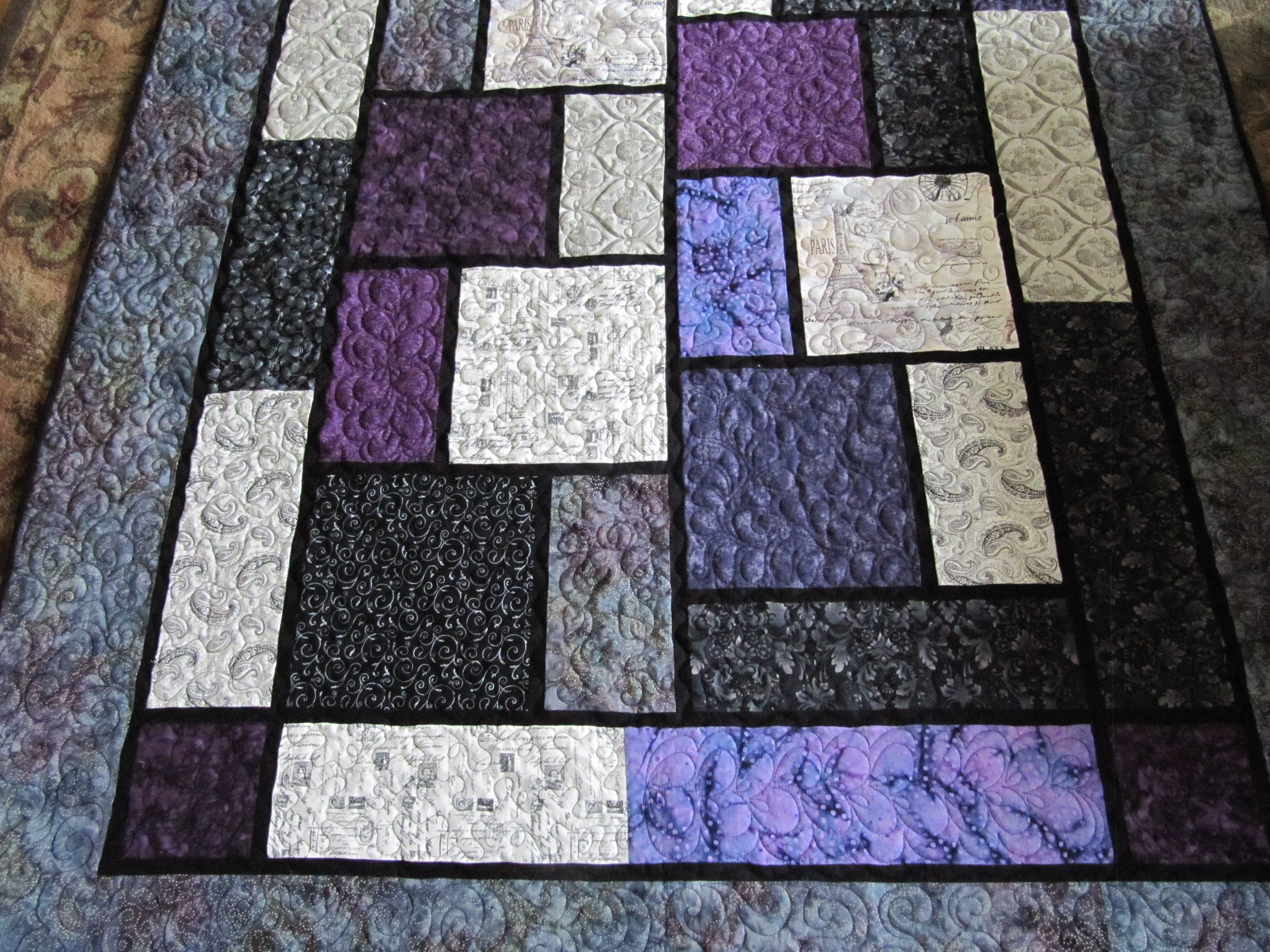 From Big Block Quilt Pattern Quilts And Things I Have