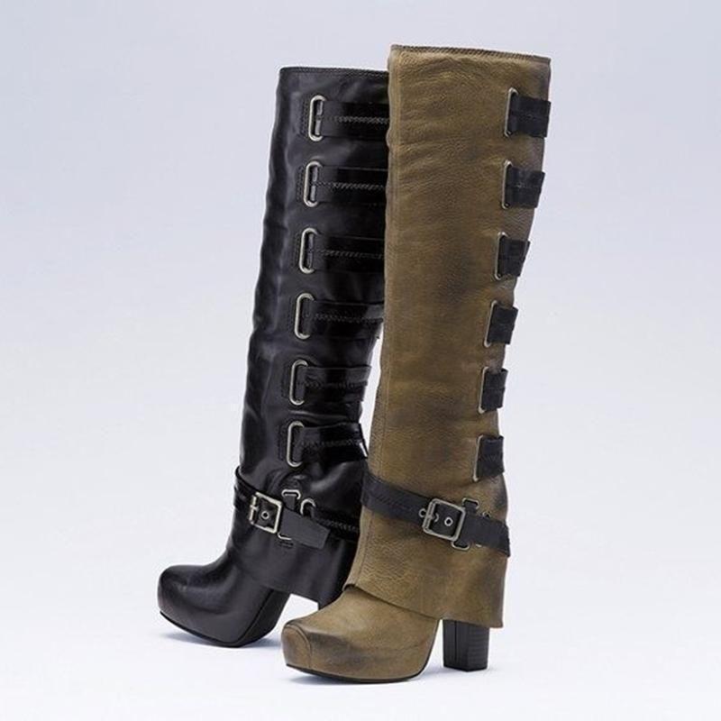 4c58b3ec4895 Women Vintage Booties Casual Plus Size Shoes