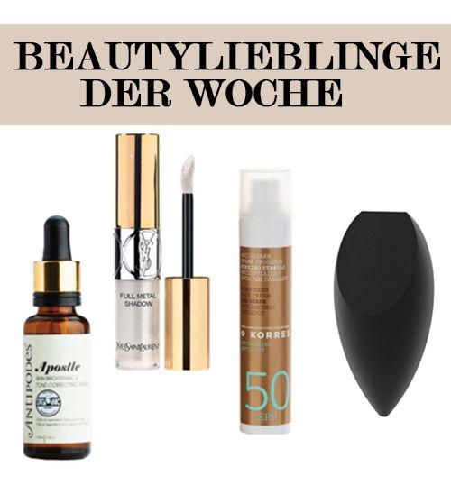 Beautylieblinge der Woche – Unsere Top 4