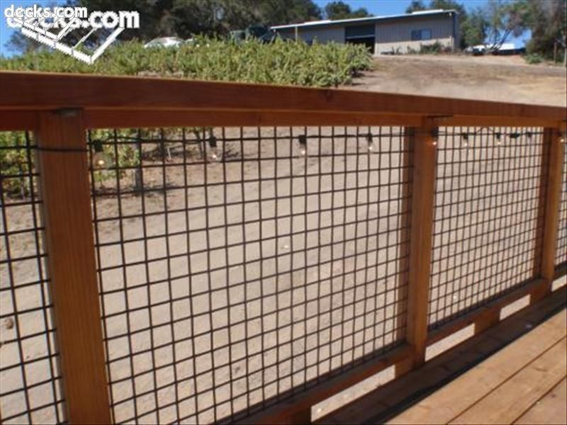 Wire Mesh Deck Railing Systems Check Out Lots Of Deck Railing Ideasu2026