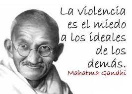 Resultado De Imagen De Frases De Paz Gandhi Mahatma