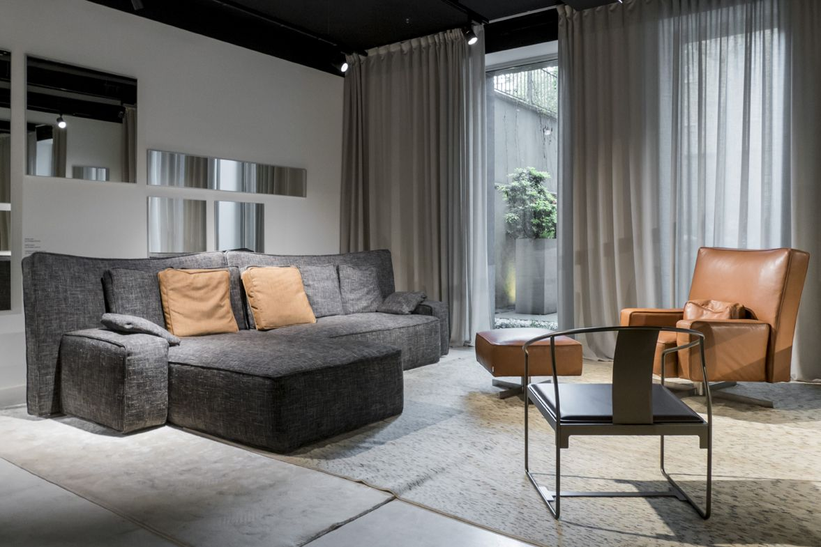 Wow Sofa And Cinemascope Armchair Designed By Starck For Driade