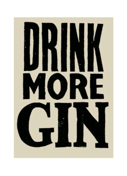 Rita Konig S Charming London Home Gin Lettering Drinks