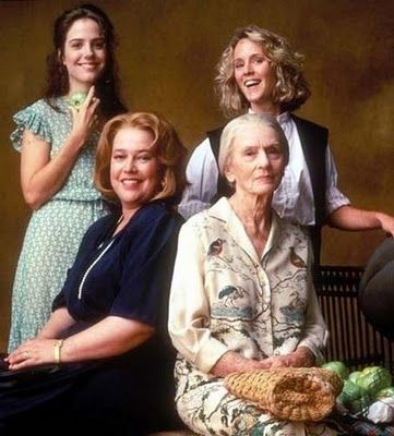 "Fried Green Tomatoes - Favorite line - ""Face it girls, I'm older and I have more insurance"". - Kathy Bates"