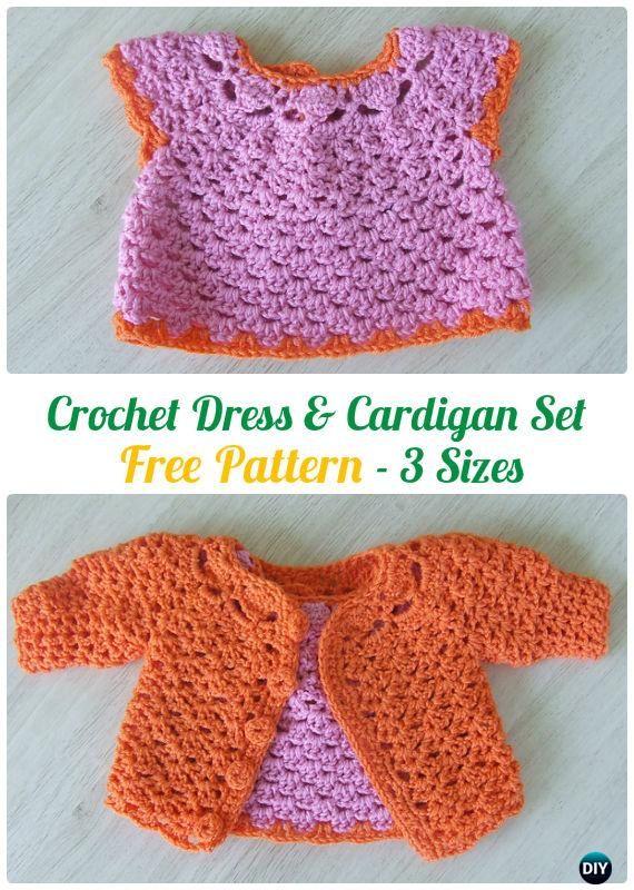 Crochet Kids Sweater Coat Free Patterns | Crochet baby sweaters, Crochet  for kids, Crochet